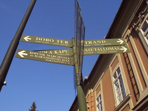 Dobo ter, Eger | Budapest to Eger, Zannnie and Zsolt