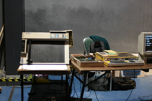 Flickriver: Photoset 'Roland DXY-990 Plotter' by anachrocomputer
