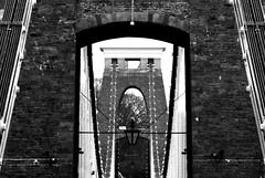 A View Through (G100-11, DS16) (jakepjohnson) Tags: door bridge stone bristol arch suspension gimp doorway cables finepix gateway fujifilm archway clifton paintnet dailyshoot ds16 g10011 s2000hd gradwell11