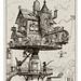 014-Casa aerea giratoria-Le Vingtième Siècle 1883- Albert Robida