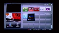 Vudu Samsung 6500 New Release Movies Internet TV Screen