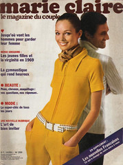 Marie Claire-April 1970 (Fashion Covers Magazines (First)) Tags: 1970 givenchy marieclaire vintagefashion vintagemagazine 1970s marieclairemagazine 1970sfashion