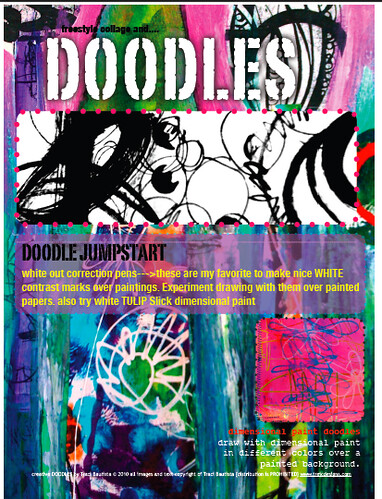 creative doodles sample pdf workbook page