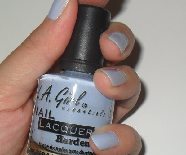 The Makeup Box: Current: Orchid Hush nails (L A  Girl Robin