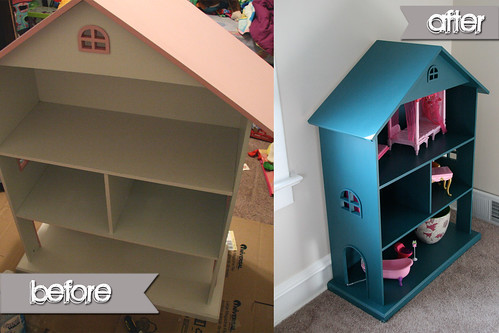 Before & After: Eliza's Dollhouse