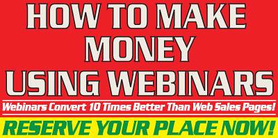 Make Money With Webinars