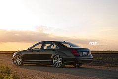 ADV.1 Mercedes S550 (GREATONE!) Tags: road sunset grey one mercedes nikon florida miami wheels dirt mia advance fla s550 adv1 d300s