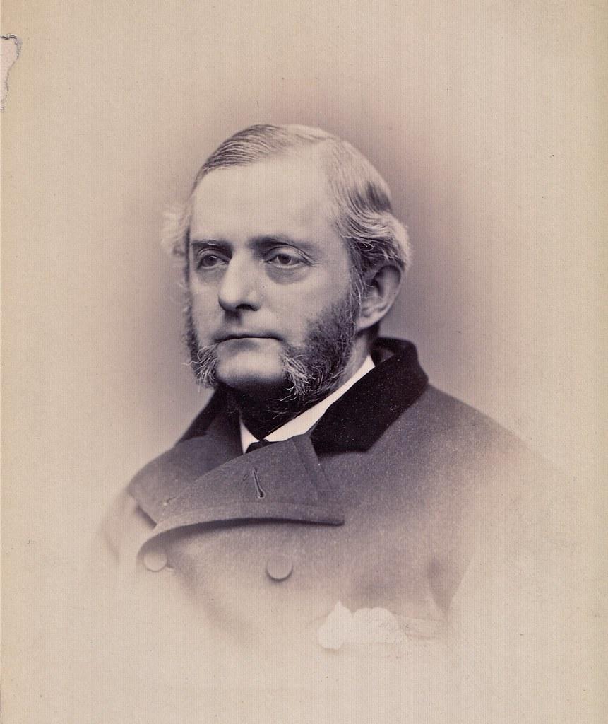 Josiah Parsons Cooke, Harvard Professor, 1871, Albumen Cabinet Card