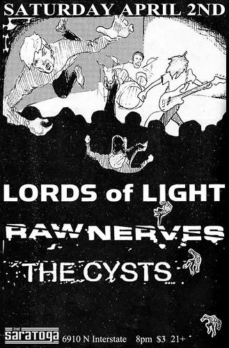 4/2/11 LordsOfLight/RawNerves?TheCysts