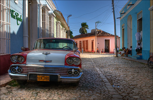 Vintage Car - Vintage Cars in Cuba