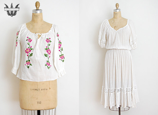 Vintage Bohemian Clothing from Adorevintage.com