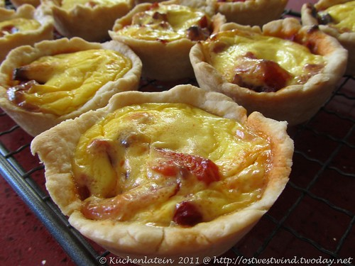 Katalanische Paprika-Tartelettes