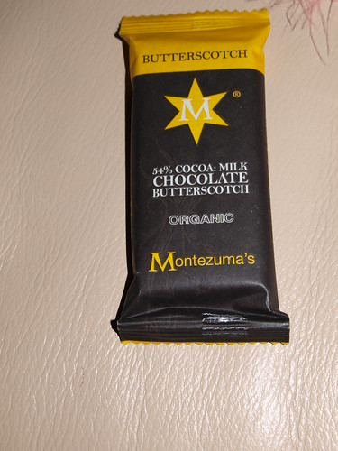 Montezuma's 54% Butterscotch Chocolate Bar