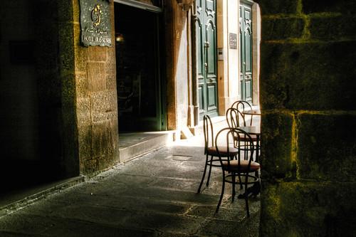 Unusual spot. Santiago de Compostela. Galicia. Rincón inusual