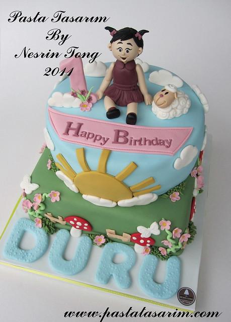 1ST BIRTHDAY CAKE - DURU BIRTHDAY