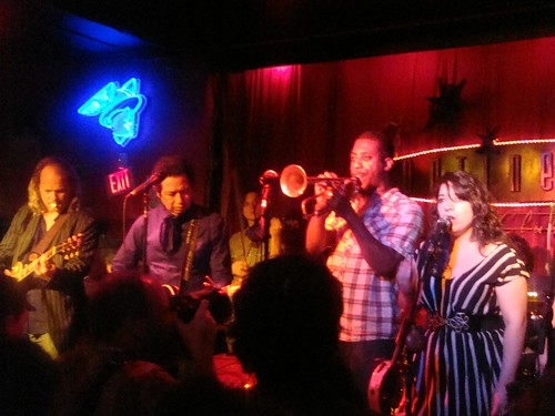 Alejandro Escovedo & the Sensitive Boys performing at the Continental Club, March 20, 2011 - Photo by Sean Phillips