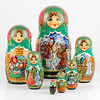 Russian Fairytales Set of Nesting Dolls (The Russian Store) Tags: matrioshka matryoshka russiannestingdolls кукла stackingdoll русская russianstore матрешка russiangifts русскиймагазин russiancollectibledolls shoprussian русскиеигрушки русскиеподарки русскиесувениры
