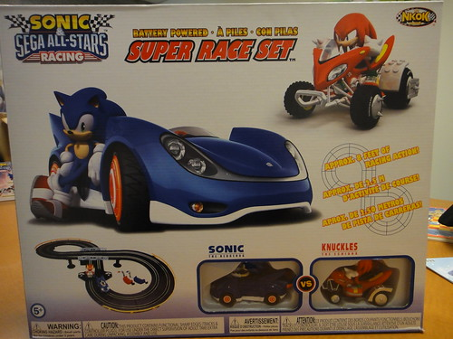 Sonic & Knuckles Race Set