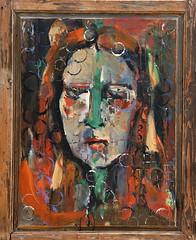 06 óleo sobre tabla   108x86 cm 1987 (arteneoexpresionista) Tags: rando jorge figuras pinturas neoexpresionismo