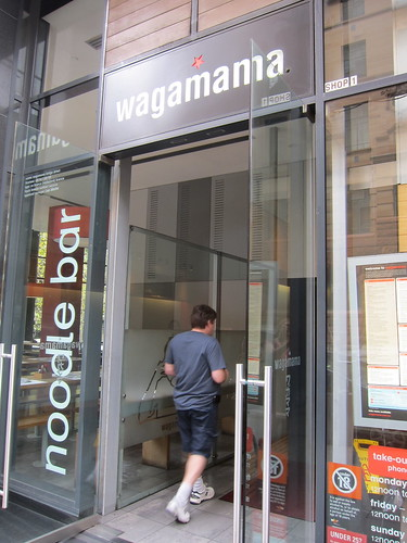 Lunch at Wagamama