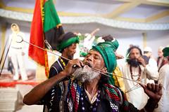 Body piercing (Swiatoslaw Wojtkowiak) Tags: delhi piercing sufi fakir nizamuddin 1082