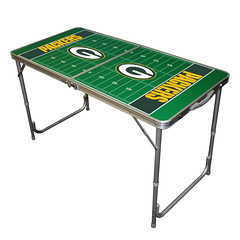 Green Bay Packers TailGate Table