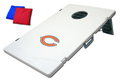 Chicago bears TailGate Toss 2.0 Plastic Cornhole Boards
