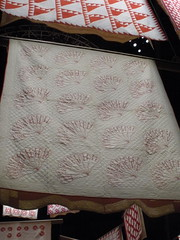Red & White signature quilt