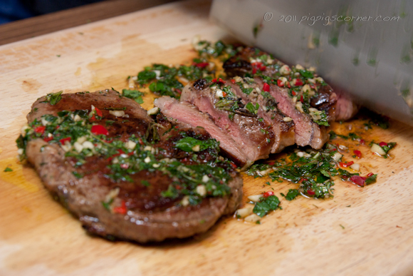 Jamie Oliver's 'Dress the Board' Rib-Eye Steak 2
