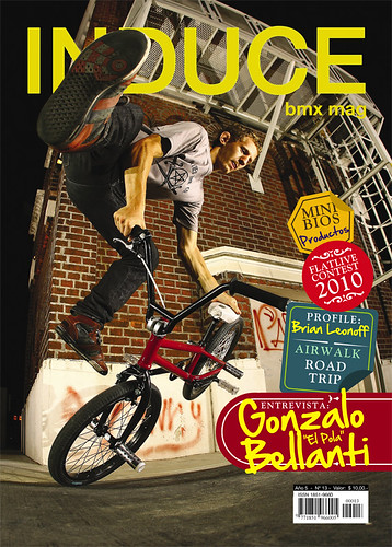 INDUCE bmx mag. 13 by laureanovallejos / COPYRIGHT