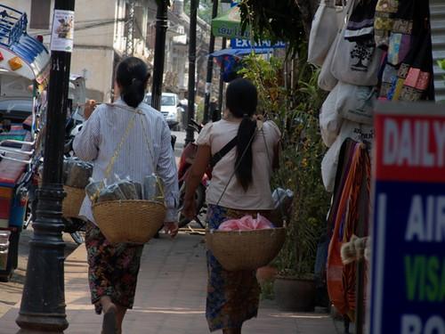 In giro per Luang Prabang