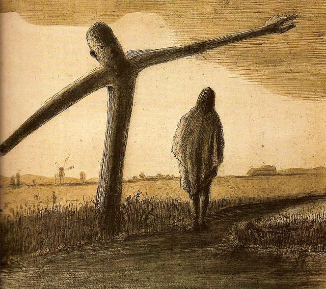 Alfred Kubin - Le poteau indicateur