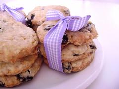 Cookies de passas