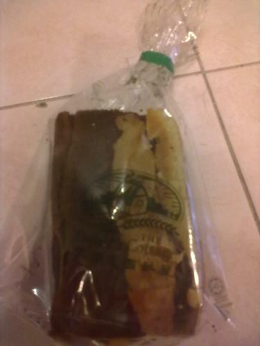 Chocolate sponge bread