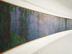 """Claude Monet, """"Les Nymphéas,"""" Le Matin aux saules"""