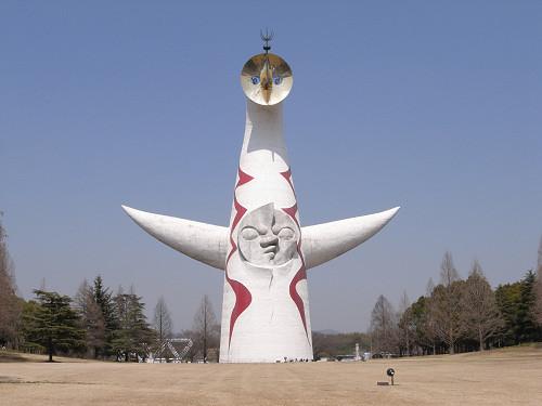 岡本太郎氏のベラボーな塔『太陽の塔』@万博記念公園