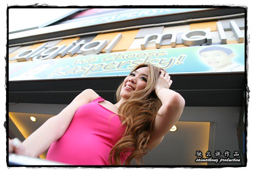 Sexy Evonne Teah @ Digital Mall