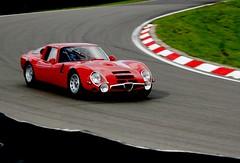 Tubes (Marvin  R) Tags: red car panning alfaromeo zagato italiancar tz2 alfaromeotz2