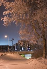 20101215_11176b (Fantasyfan.) Tags: winter cold topv111 tag3 taggedout buildings dark lights tag2 tag1 oulu 20c tuira fantasyfanin underpassage oulunlääni siirretty