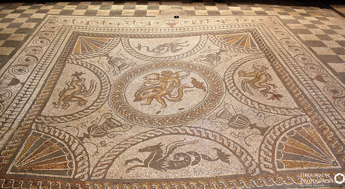 91/365 Fishbourne Roman Palace - Cupid on a Dolphin Large