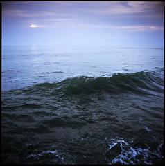Ocean wave (Daniil Tkachuk) Tags: ocean sunset bali color 120 6x6 film indonesia square wave slide velvia bronica fujifilm medium format mf