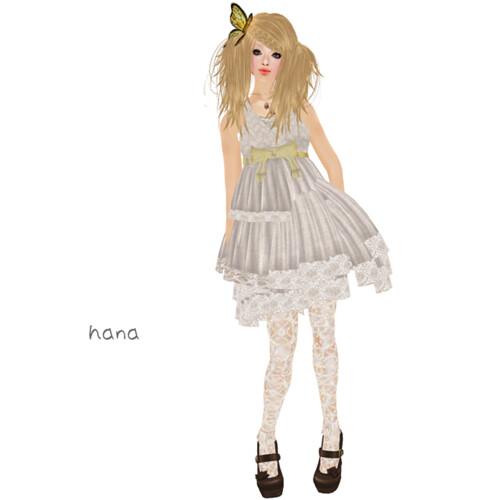 *LS* linen dress beige