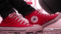 Converse (Dana) Tags: red fashion star shoes all converse