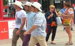 GREAT shot!! (ManontheStreet2day) Tags: man male hat cowboy wallet tshirt hunk crotch jeans bluejeans cowboyhat stud bulge