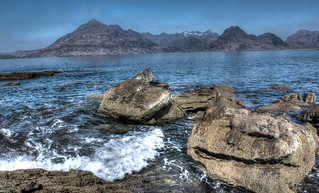 Elgol and the Smiling Rock