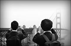 San Francisco 29 (Eloy Rodrguez (+ 4.900.000 views)) Tags: goldengate sanfranciscobay sausalito alcatraz fishermanswharf pier39 seascape landscape cityscape skyline buildings architecture sanfrancisco california usa sanfran blancoynegro bw eloyrodriguez potd:country=es