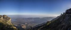 ridges (Tin-Tin Azure) Tags: girnar girinagar revatak pravata junagadh gujarat india temple mountain sacred pilgrimage hill altitude 3666 feet 3315 climb 250bce mount 1030 metres meters panorama panoramic pano