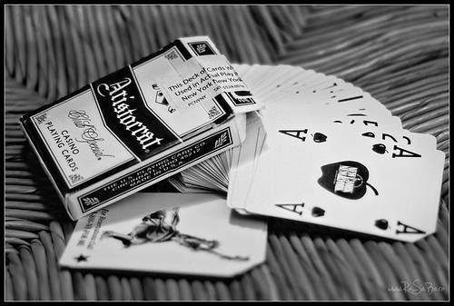 New York New York Casino - Playing Cards