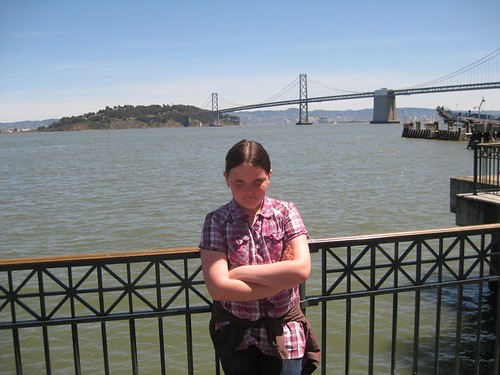 My daughter, San Francisco Bay, May 2010