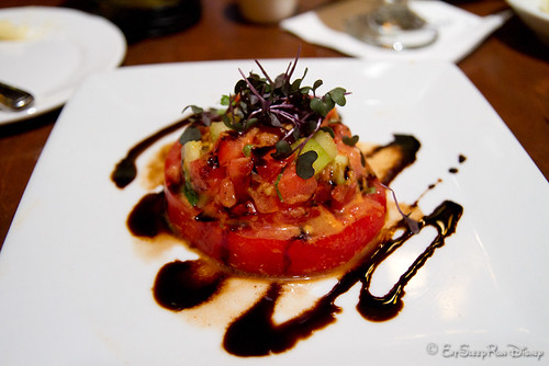 Tomato Stack, minus blue cheese